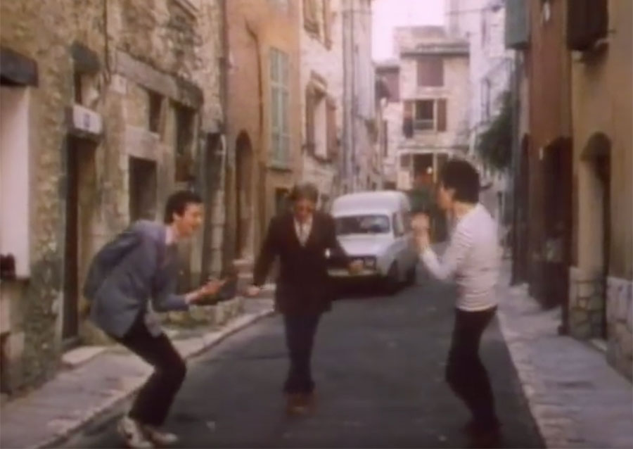 Steve and Carole in Vence - Elvis Costello & The Attractions - I Can't Stand Up For Falling Down - Rue de la Coste