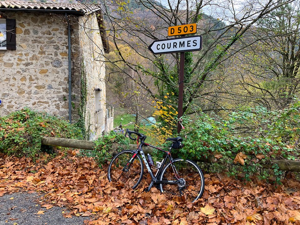 Steve and Carole in Vence - 85 Villages by Bike - Vence, Courmes & Bar-sur-Loup