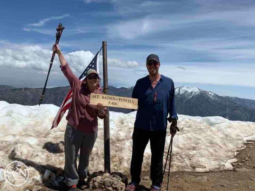 PCT: Mt Baden-Powell