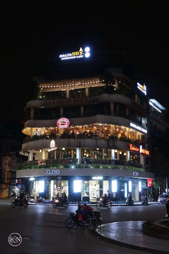 Hanoi Vietnam empty streets