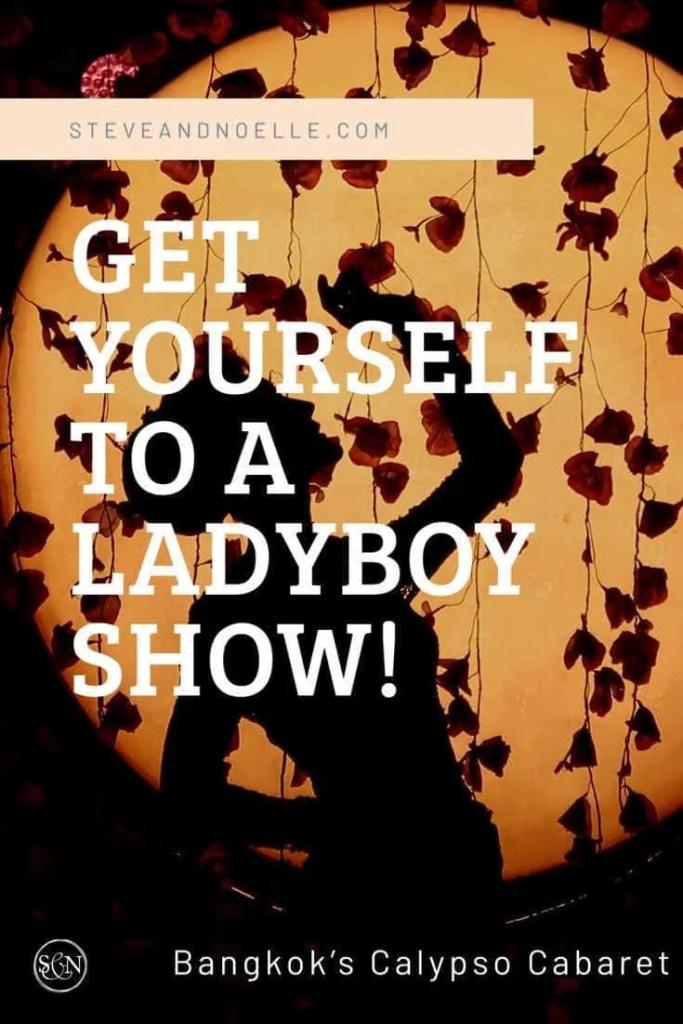 Bangkok's Calypso Cabaret Lady boy show