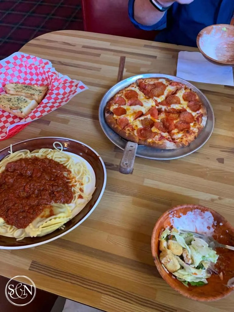 Pizza and Pasta in Big Bear