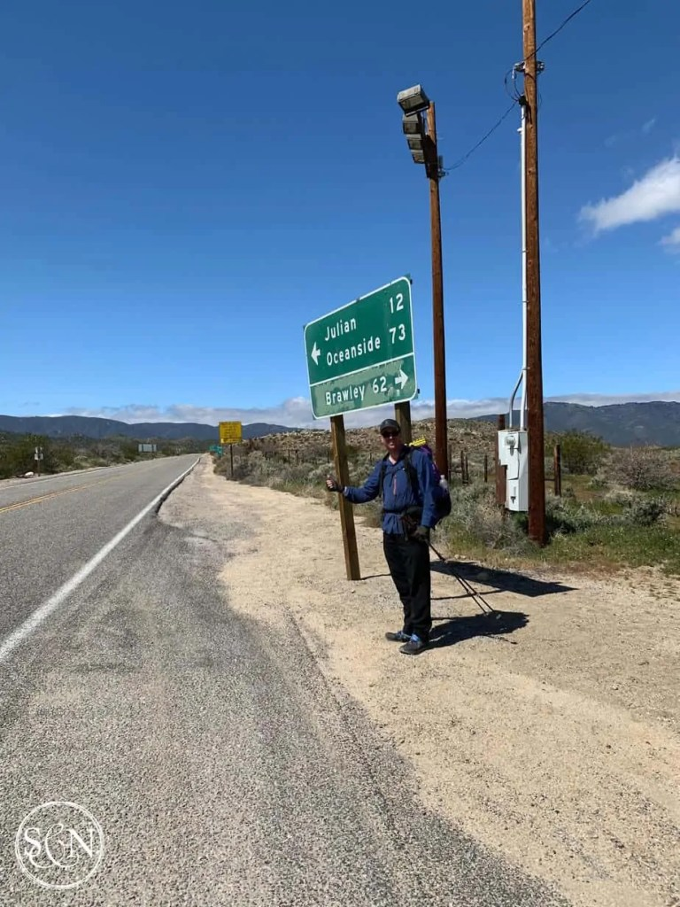Hitchhiking to Julian