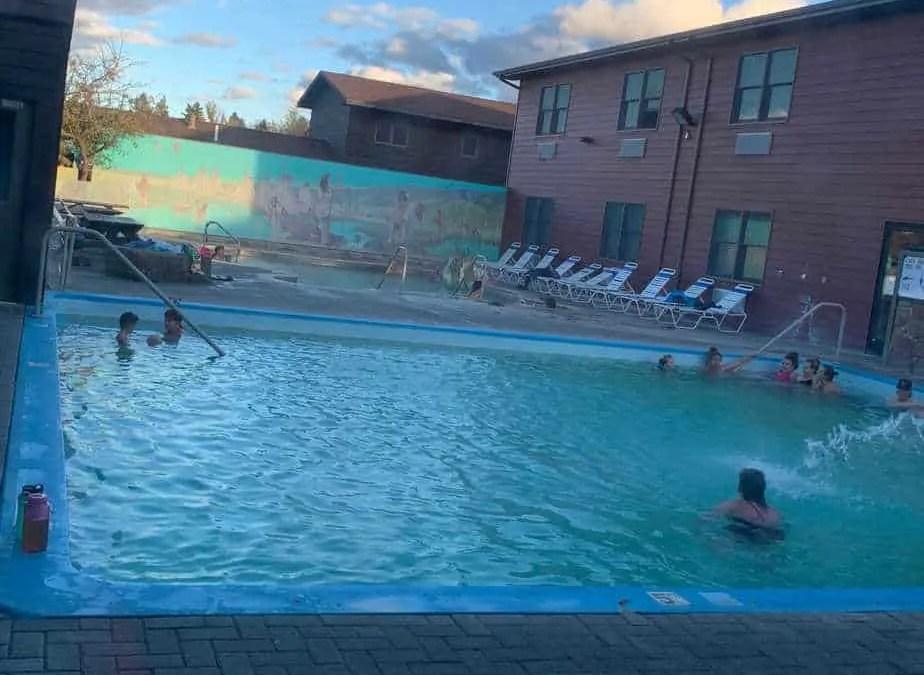 White Sulphur Springs outdoor pools
