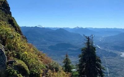 Sauk Mountain Trail in the North Cascades