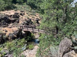 Bridge near Burney Falls