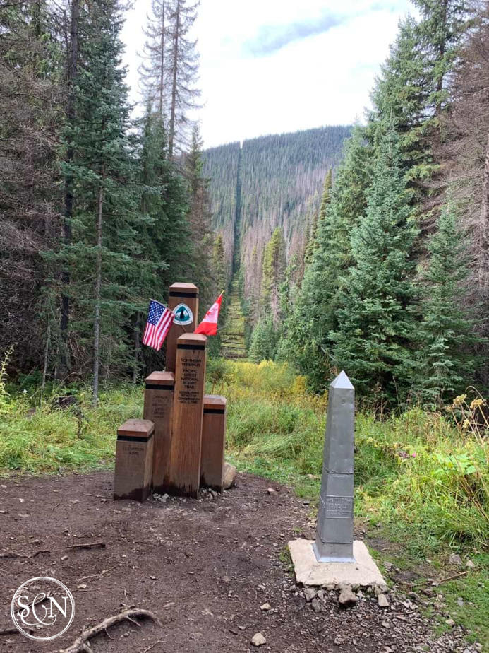 PCT Northern Monument