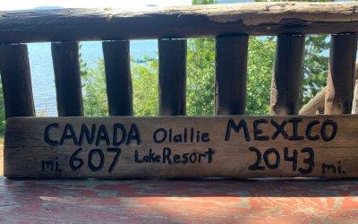 PCT: Olallie Lake