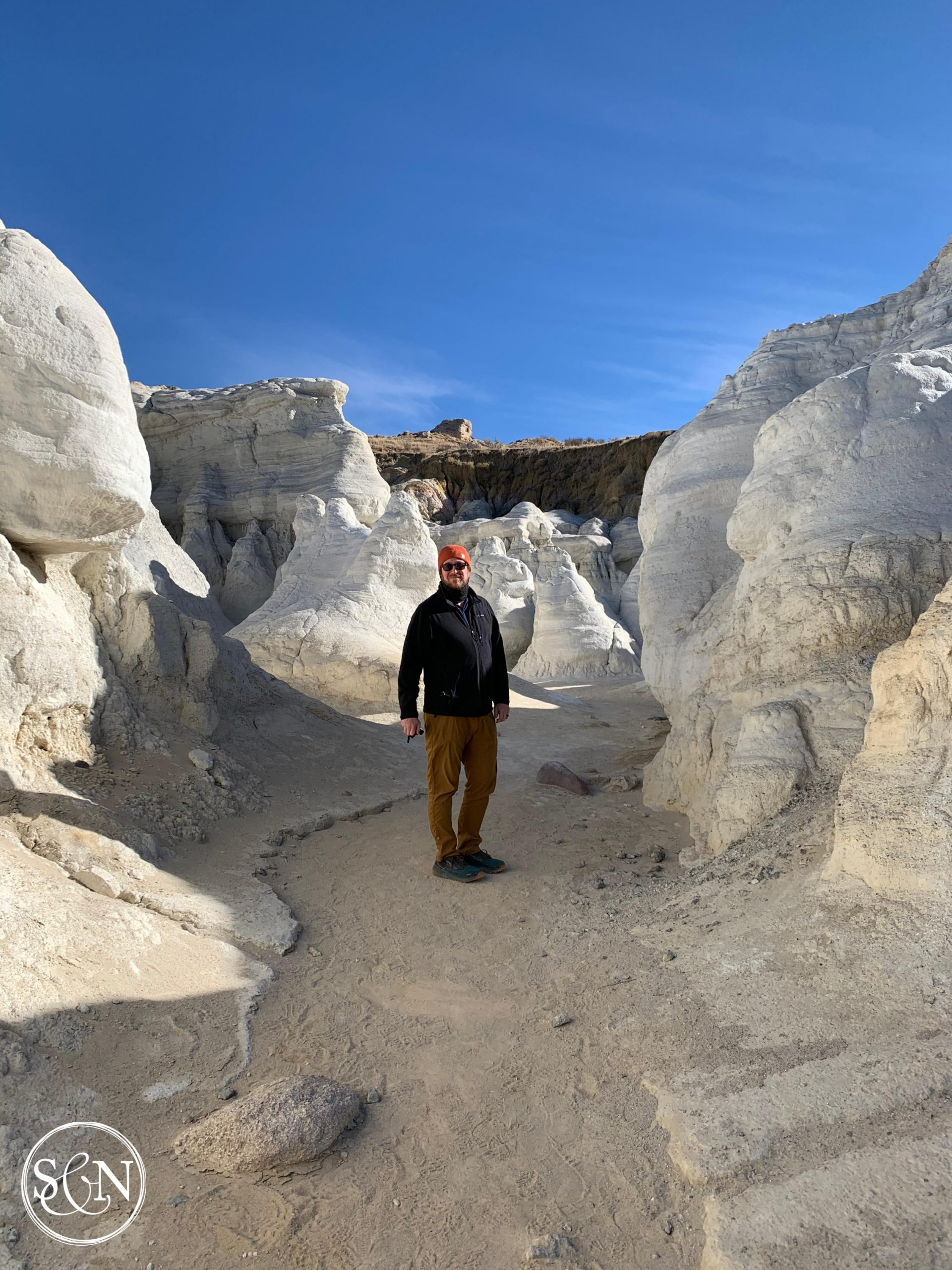 Steve at the Paint Mines