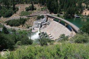 Dam near Burney Falls