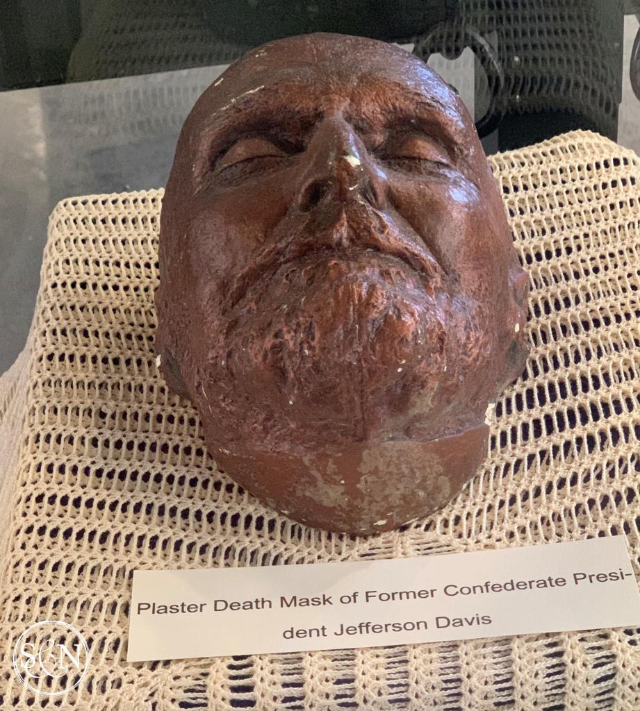 Jefferson Davis death mask