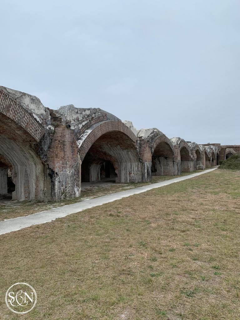 How to clean black water tanks and visiting Fort Pickens