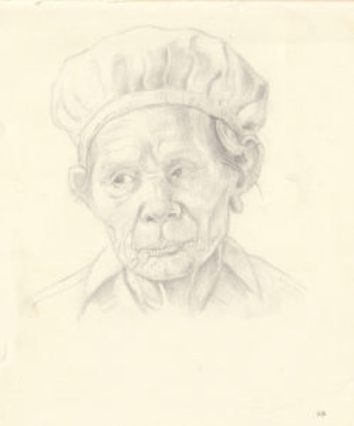 head-of-old-woman-pencil-sketch-steve-beadle-art