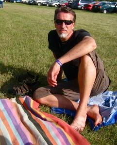 Steve at Folkfest