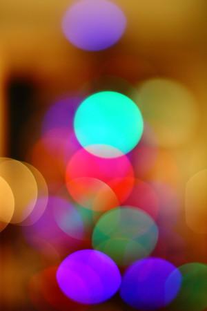 Christmas Tree Abstract