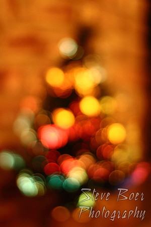 Christmas Tree Abstract