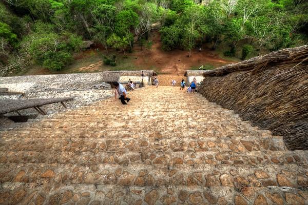 Ek Balam temple ruins