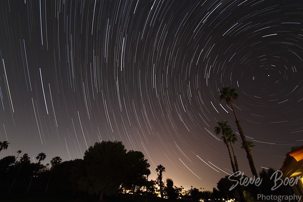 Palm Desert Star Trail