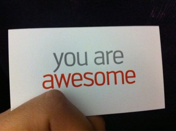 you are awesome card vegas 1024