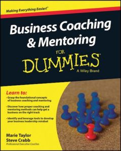 Buy Steve Crabbs Book 'Business Coaching & Mentoring for Dummies on Amazon