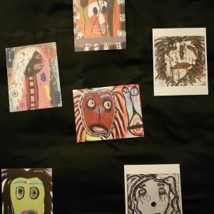 Combination of 6 Art Cards