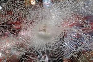 Broken Armoured Glass - © Dreef - https://stock.adobe.com/uk/stock-photo/broken-glass/1425637
