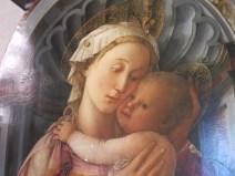 "Florence: ""Madonna of Palazzo Medici-Riccardi,"" Filippo Lippi."