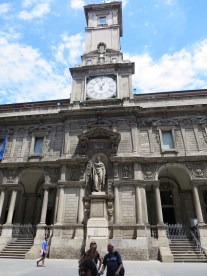 Milan: Fabricio Bossio Clock Tower.