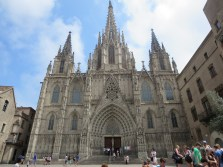 Barcelona: The Cathedral.