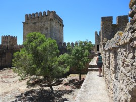 The castle of El Cornil.