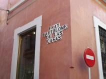 Seville street sign.