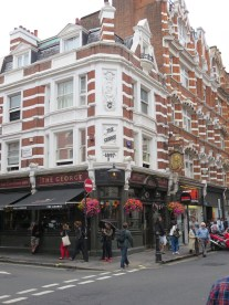 London: The George in Soho.