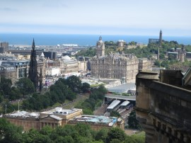 View from Edinburgh Castle.