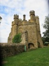 Battle Abbey: the gatehouse.