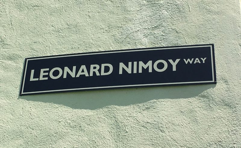 Nimoy sign