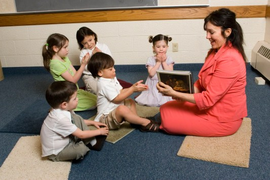 The Mormon Church nursery class