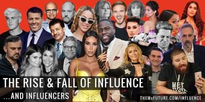 rise and fall of influence - the mcfuture with steve faktor - ideafaktory.com