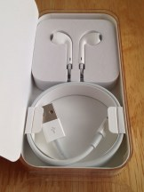 EarBuds and Lightning Cable