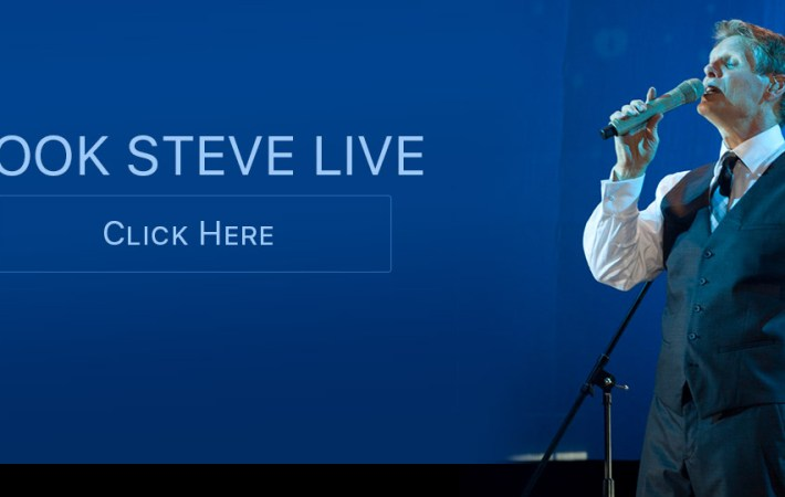 Book Steve Green LIVE