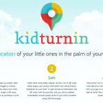 The homepage for Kid Turn In