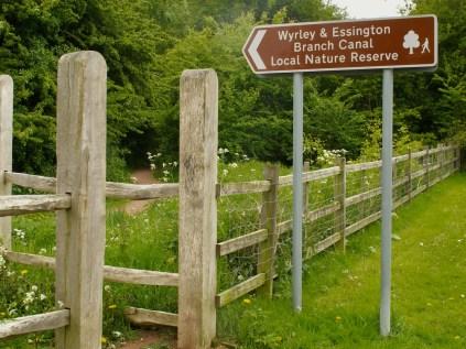 LNR Cheslyn Hay Entrance