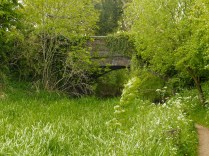 Bakers Bridge - almost invisible