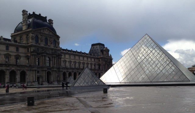 The Louvre. We will definitely be back here!