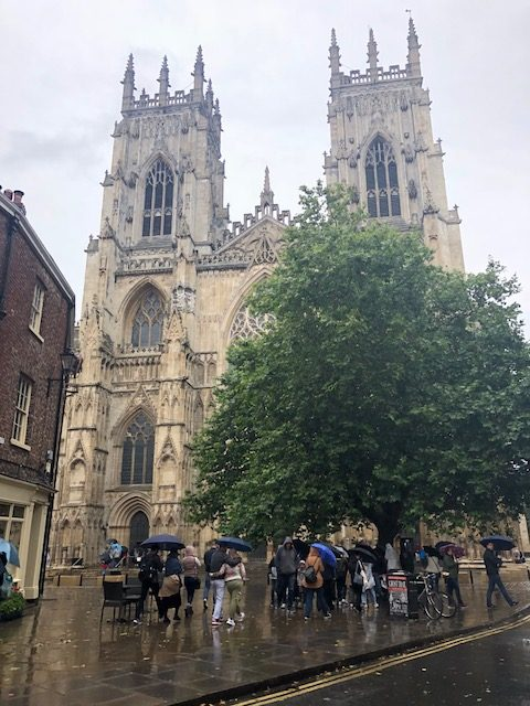 York Minster from the front