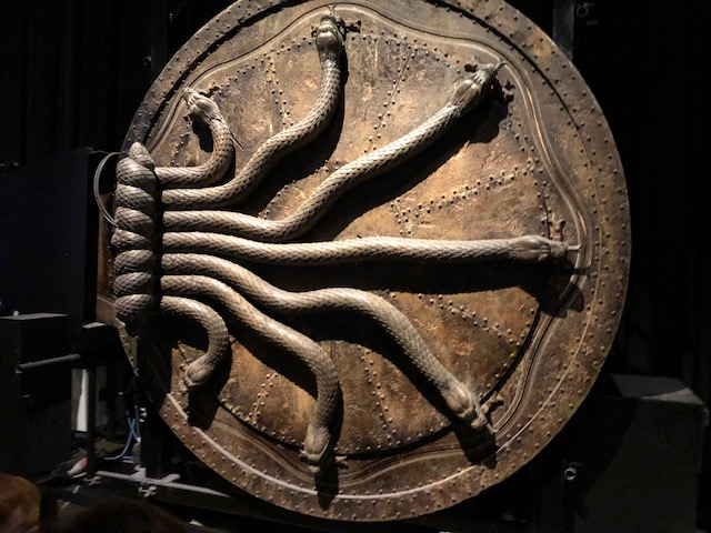 The door in the Chamber of Secrets was mechanical, not CG as many assumed because its opening was so intricate