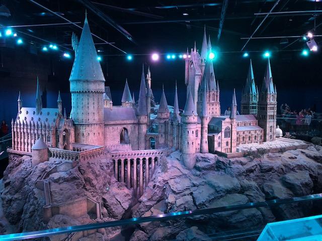 The model of Hogwarts Castle