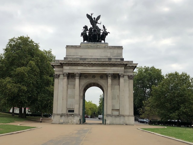 Arch of Wellington in Green Park