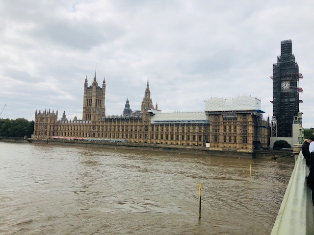 Westminster looking a little more classic from the bridge