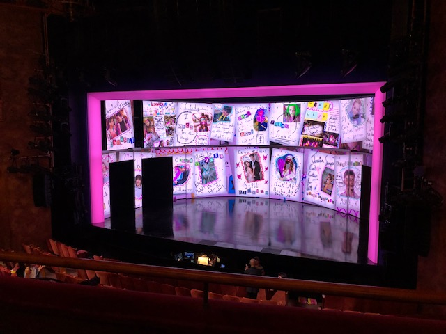 Mean Girls stage