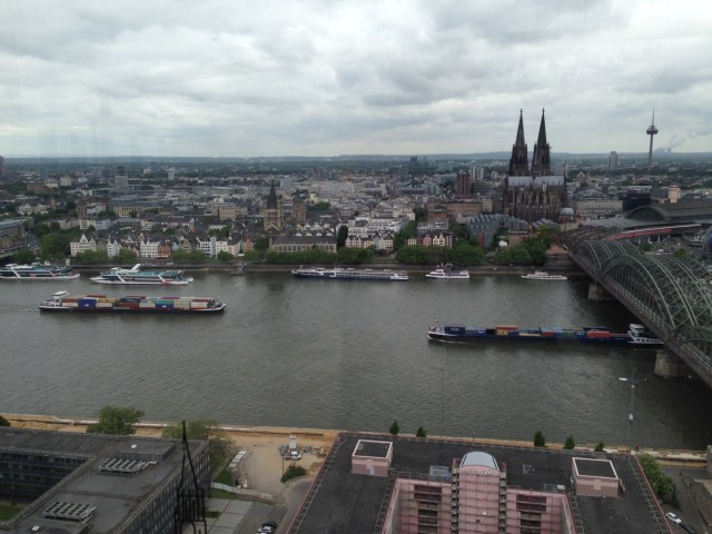 Cologne and the Rhine River
